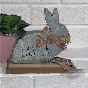 Rae Dunn Metal EASTER Bunny